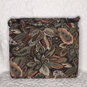 Vintage Toby Weston Tapestry Shoulder Handbag Tote